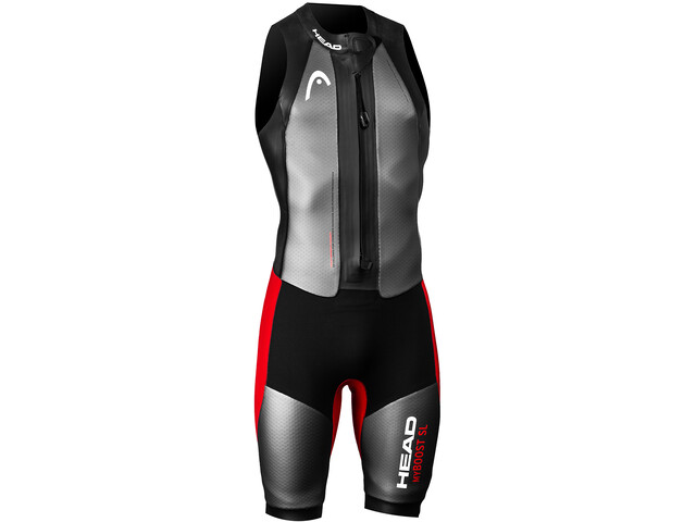 Head Swimrun MyBoost SL Wetsuit Men black-silver-red